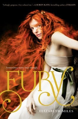 Review: Fury by Elizabeth Miles