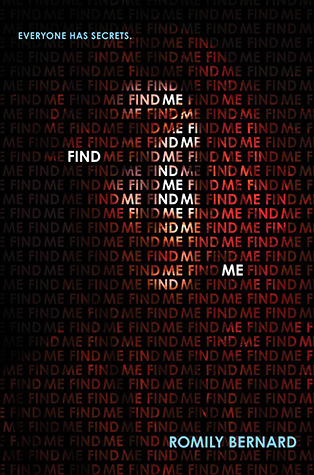 Find Me Blog Tour: Review + Giveaway