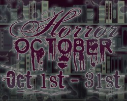 Horror October Discussion: Horror in Books