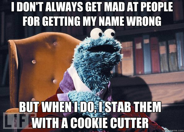 cookie monster name