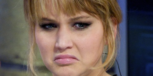 Jennifer Lawrence disgusted
