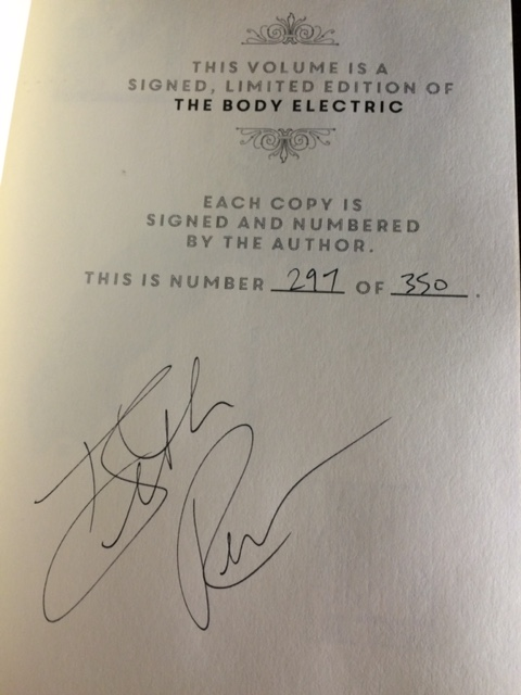 body electric signed