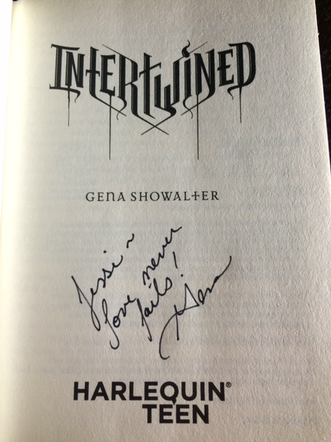 intertwined signed
