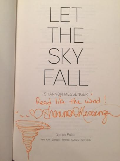 let the sky fall signed