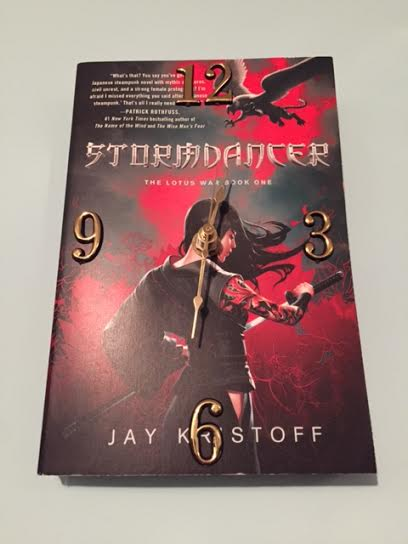 Stormdancer book clock