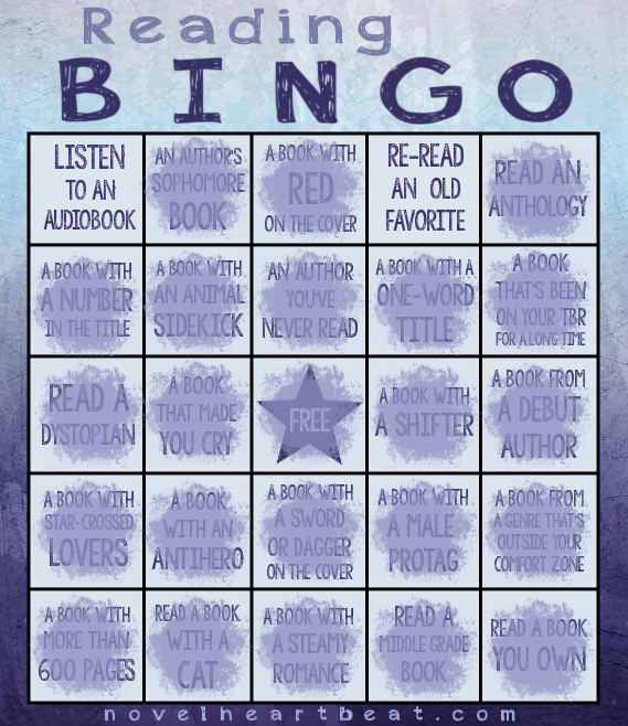 reading bingo progress