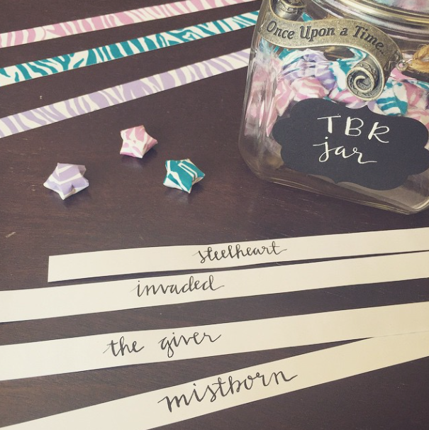 how to tbr jar