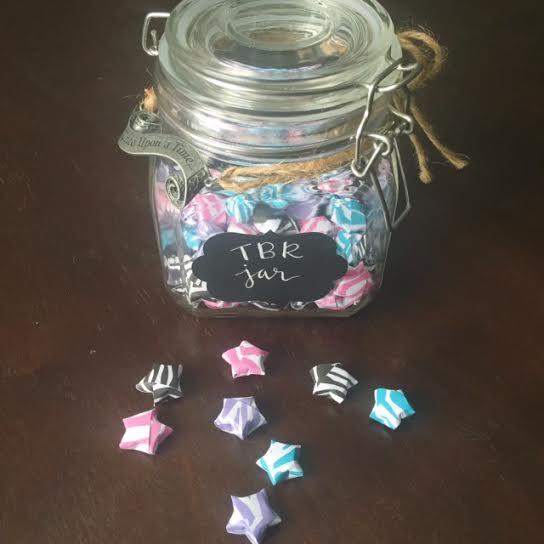 tbr jar paper stars