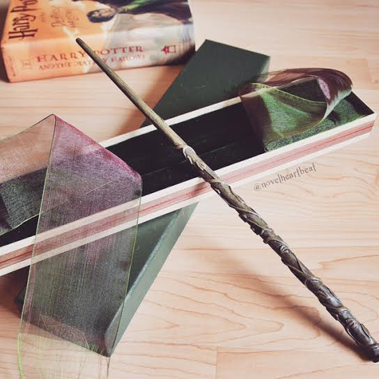 Hermione Harry Potter wand
