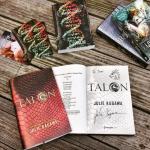 Signed books Julie Kagawa