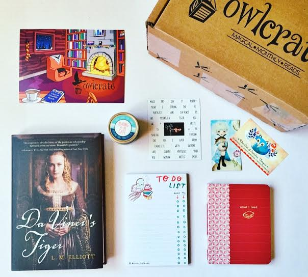 December OwlCrate