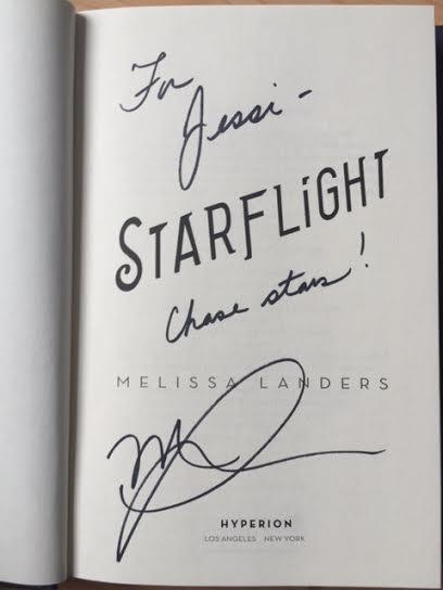 starflight melissa landers signed