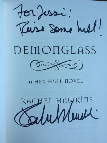 rachel hawkins signature