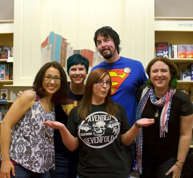 awesome authors and me
