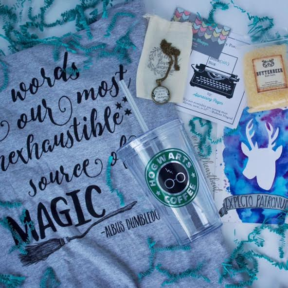 may harry potter bookish box