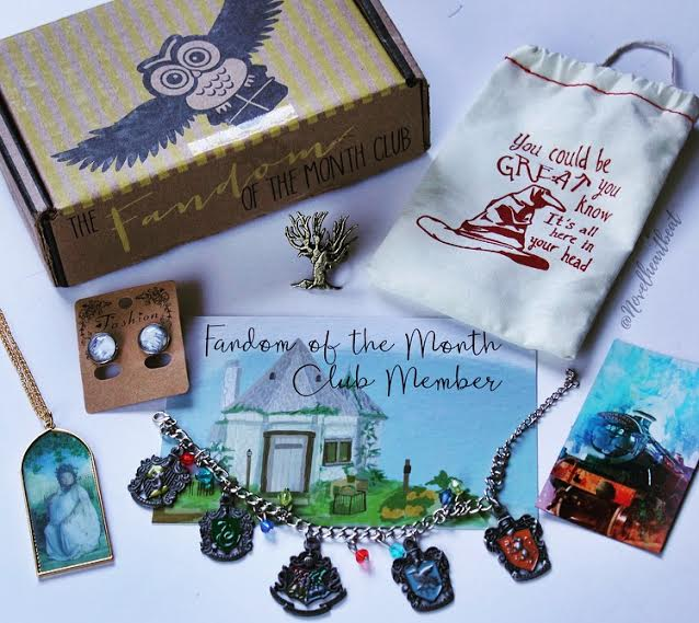 july fandom of the month club box
