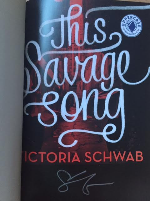 this savage song signed
