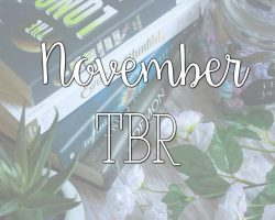 October Wrap Up & November TBR