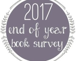 2017 End of Year Book Survey + Reading Stats