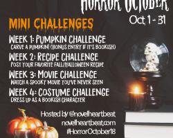 Horror October kicks off!