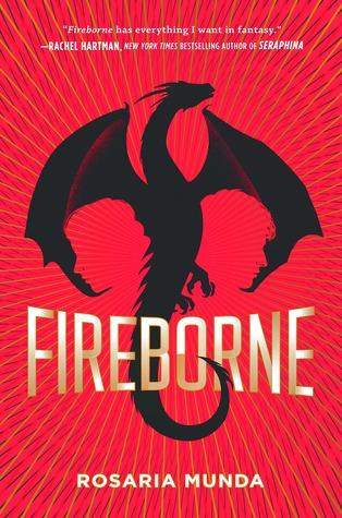 Audiobook Review: Fireborne by Rosaria Munda