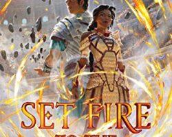 Mini Audiobook Reviews: Set Fire to the Gods, Steel Crow Saga